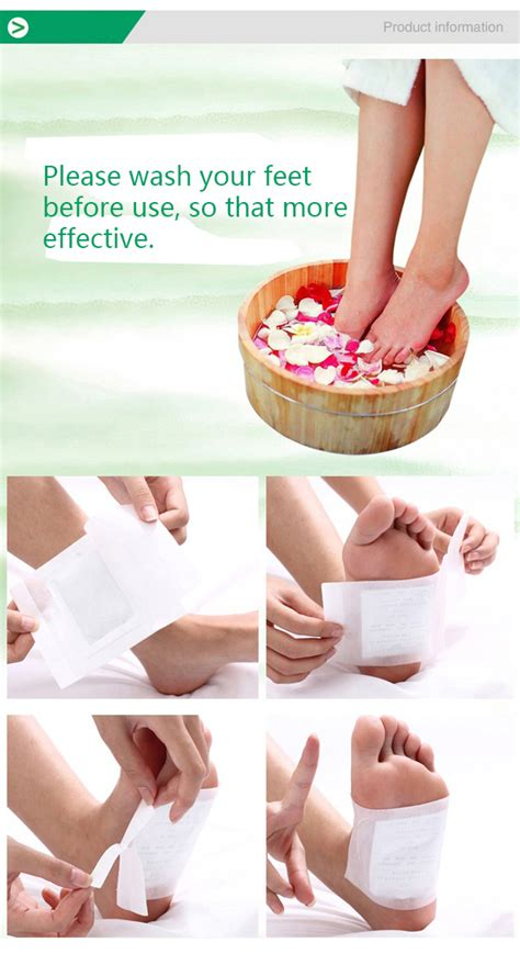 Any To Putting On Foot At Detoxes by 10pcs Verseo Detox Foot Cleansing Patch