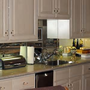 mirrored backsplash in kitchen dauphin sales back splashes