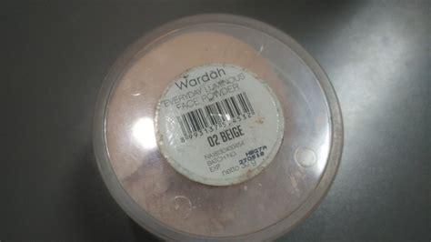 Harga Shimmering Powder Makeover review wardah everyday luminous powder beige soul