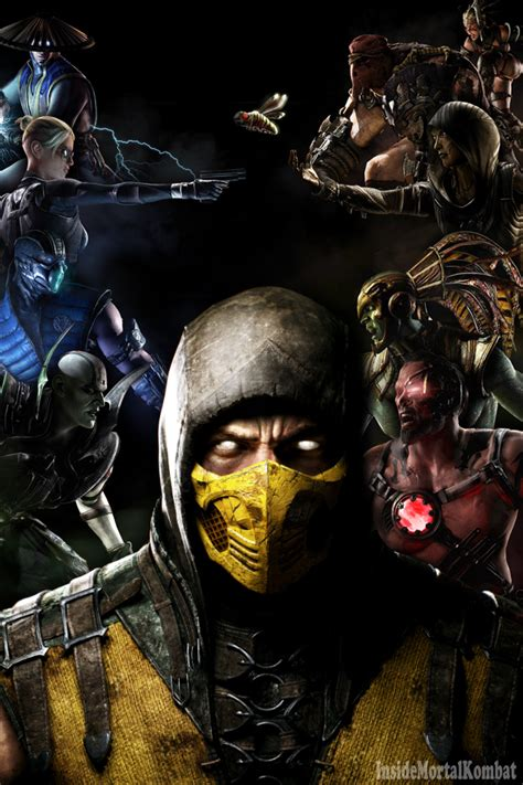 wallpaper iphone 5 mortal kombat mkx mortal kombat x iphone wallpaper by insidemk