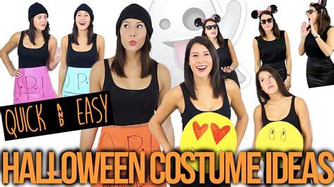 quick easy group halloween costume ideas youtube