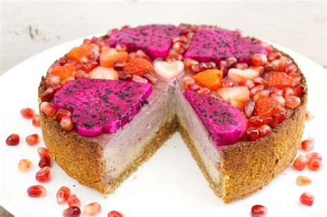 kuchen 18 cm springform raspberry vanilla cheesecake the tasty k