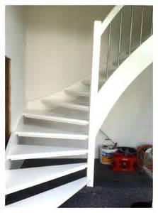 weisse treppe holztreppen aus schwarzenbek