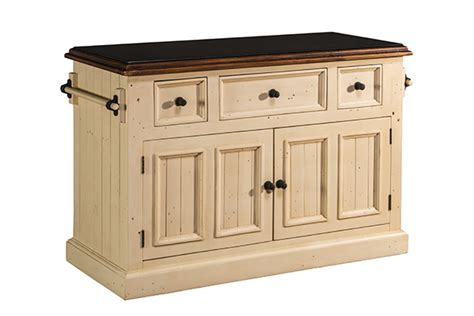 hillsdale accents metal kitchen island with white marble tuscan retreat 174 3 drawer 4 door large granite top kitchen