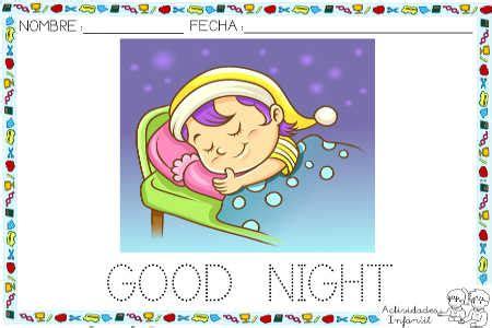 imagenes en ingles good night saludos para los diferentes momentos del d 205 a en ingl 201 s