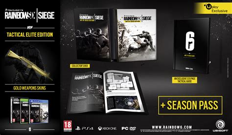 world pc ps4 weapons tips guide unofficial books rainbow six siege release date and special editions