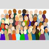 Clip Art Jesus And The Crowd for Pinterest