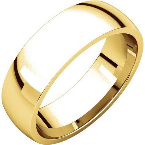 comfort fit wedding bands x123821 14k gold 6mm comfort fit plain wedding band