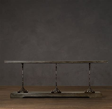 Restoration Hardware Console Table 17 Best Images About Consoles On Foyer Tables Hunters And Hardware