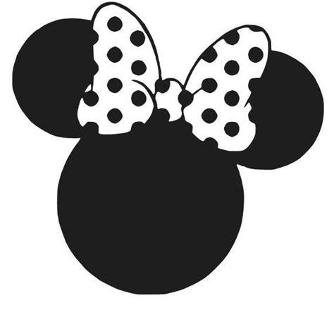 minnie mouse ears decal sticker disney window car laptop