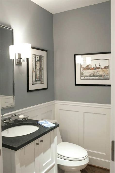gray bathroom curtains