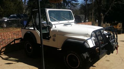 Seller Of Classic Cars 1978 Jeep Cj White Purple