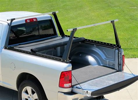 Truck Bed Rack With Tonneau Cover by Access Original Roll Up Cover Adarac Truck Bed Rack Combo