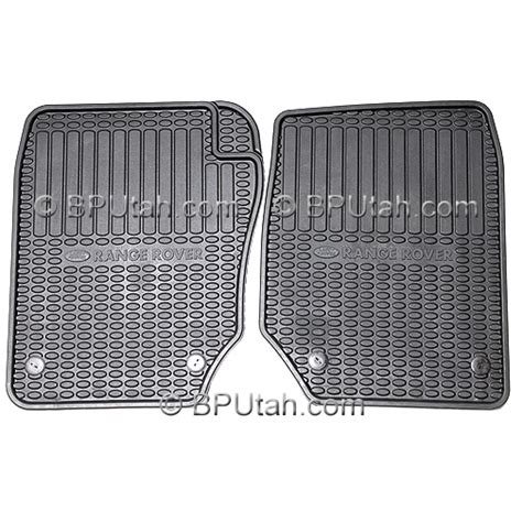 Range Rover Rubber Floor Mats by Range Rover Factory Genuine Oem Rubber Floor Mats