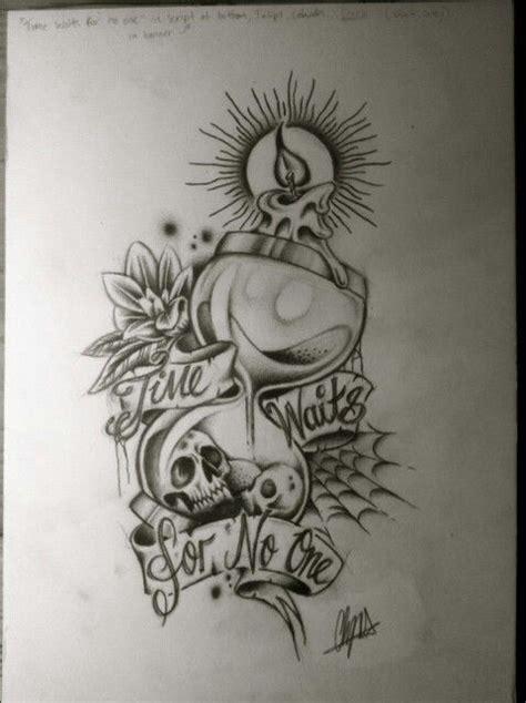 time waits for no one tattoo time waits for no one tattoos tattoos
