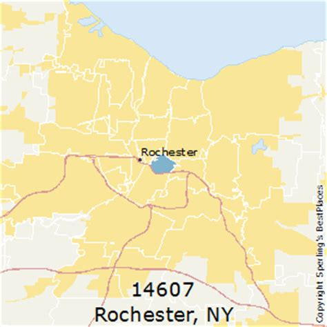 zip code map rochester ny best places to live in rochester zip 14607 new york