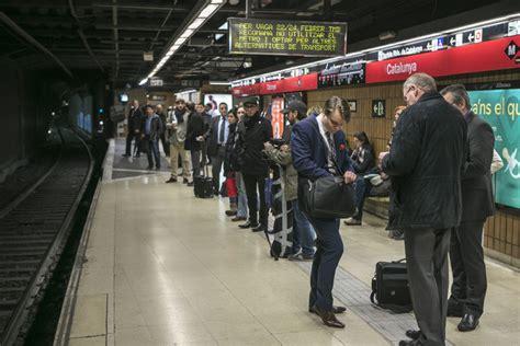 sueldo trabajadores metro barcelona tabla el sueldo de los trabajadores del metro de barcelona 33