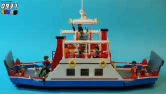lego ferry boat lego city car ferry the lego car blog