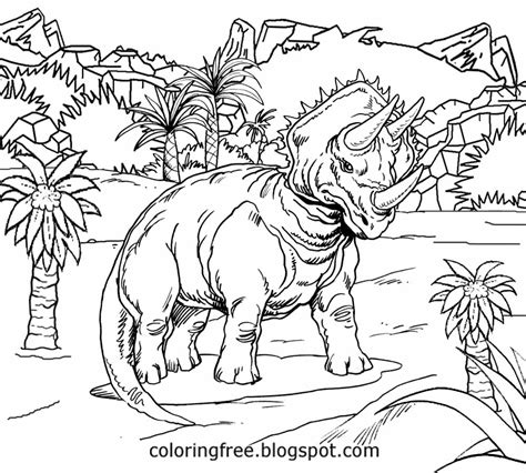 coloring page jurassic world jurassic world free coloring pages