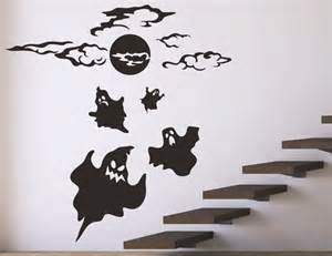 Halloween Wall Decoration Halloween Wall Decals Stickers Ghost Halloween Decor Stick On