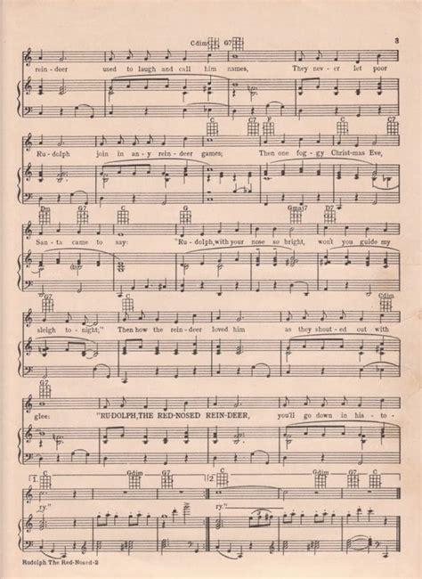 christmas piano sheet music free printable