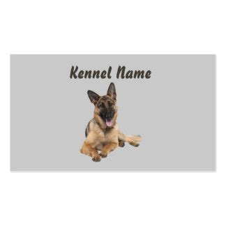 free business cards templates german shepherd silhouette german shepherd business cards templates zazzle