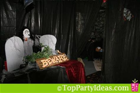 easy haunted house garage in 7 steps