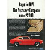 Model Year Madness 10 Classic Ads From 1971  The Daily