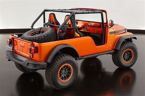 jeep concept vehicles jeep unveils several concept vehicles for 2017 moab easter