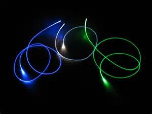 lichtleiter beleuchtung 1 5mm lwl lichtwellenleiter lichtleiter seitlich leuchtend 2m