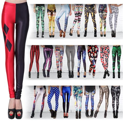 37136 Cln Streach Tribal Cln Legging Streach Streach L Besar fashion pattern printed womens stretch tight