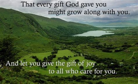 along with the gods facebook that every gift god gave you might grow along with you