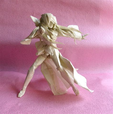 Anime Origami - 25 japanese anime characters in origami form