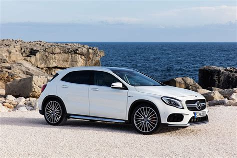 car mercedes 2017 mercedes gla 2017 facelift merc gets the mascara out