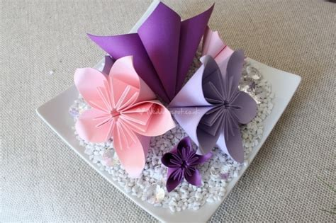 origami centerpiece weddings