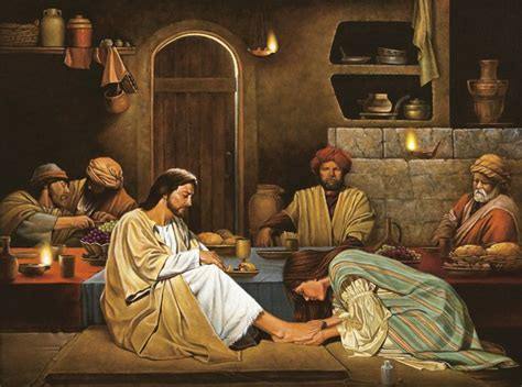 parable of the dinner luke 7 36 48 50one of the pharisees asked jesus to