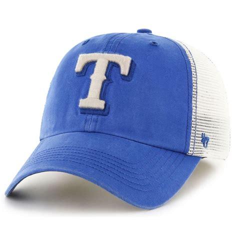 baseball cap logos of brands 47 brand texas rangers mlb rockford mesh fitted baseball