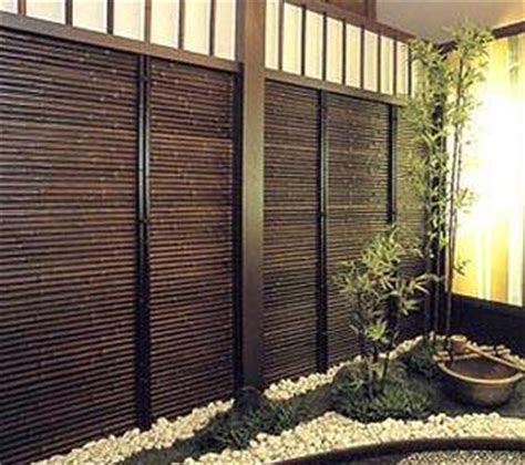 Balcony Bamboo Blinds Black Bamboo Fence