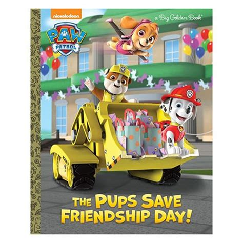 puppy day big golden book books paw patrol the pups save friendship day big golden book