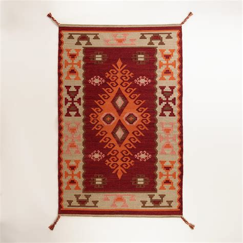 Kilim Outdoor Rug Odina Kilim Indoor Outdoor Rug World Market