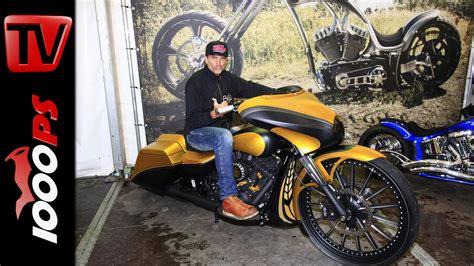 Motorrad Felgen H Ndler by Video Thunderbike Harley Davidson Bagger Mit 30 Zoll