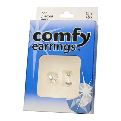 comfortable stud earrings comfyearrings com completely comfortable earrings
