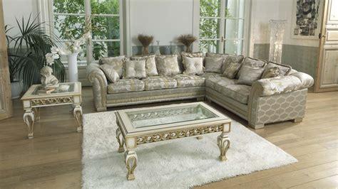 Ambassador luxury Italian Corner Sofa   Mondital Furniture