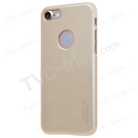 Nillkin Frosted Hardcase Iphone 55sse Gold nillkin frosted shield pc phone for iphone 7 screen protector gold tvc mall