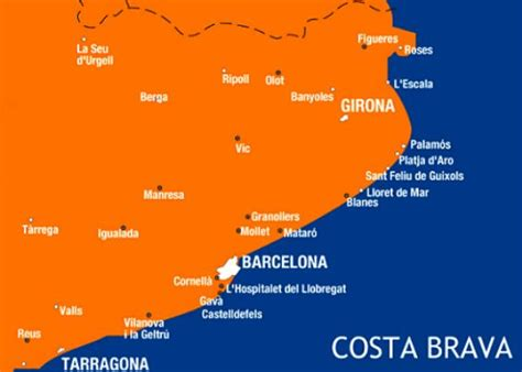 best resort in costa brava costa brava beaches the coast of spain