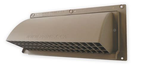 Kitchen Exhaust Vent Wall Cap by Wc Series Wall Cap Intake And Exhaust Vents Primex