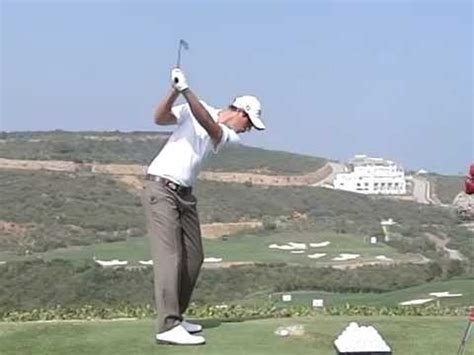 jack nicklaus slow motion swing nicolas colsaerts golf swing with an iron in slow motion