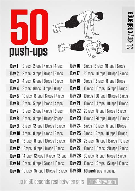 50 push ups challenge inspiremyworkout a