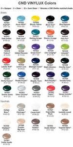 vinylux color chart cnd vinylux color chart esther s nail corner