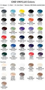 vinylux colors cnd vinylux weekly nail color chart bolds neutrals